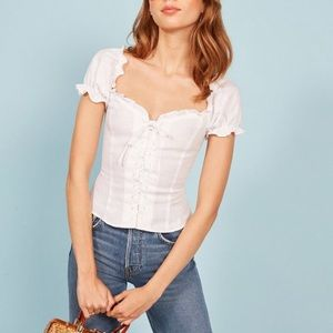 Reformation Cassidy Top